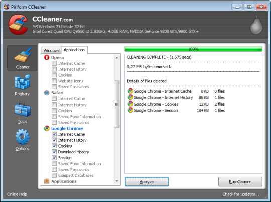 Ccleaner no install free download