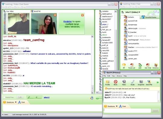 Yahoo Messenger Chat Room Mobile