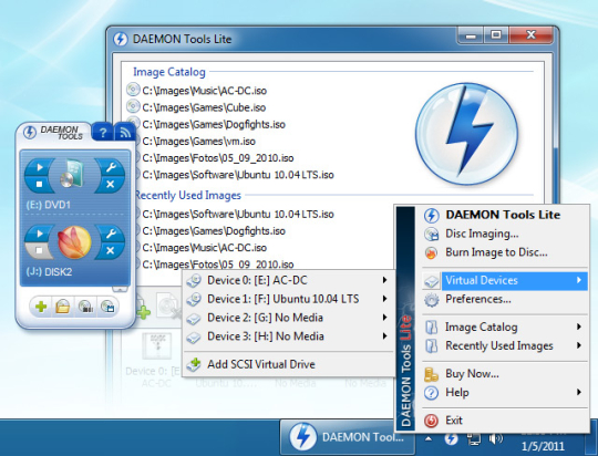Daemon tools lite 10. 9. 0 free download software reviews.