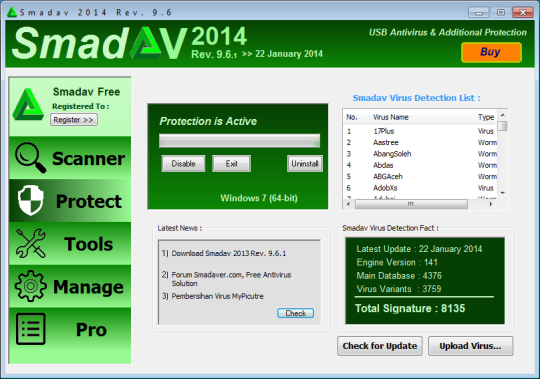Download) smadav 2014 antivirus download v-9. 7 (free antivirus).