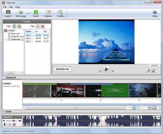 videopad video editor deutsch