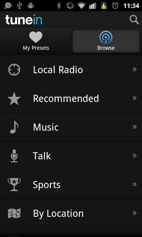 TuneIn Radio Baixar e instalar | Android