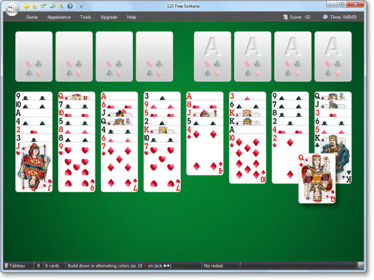 123 free solitaire italiano