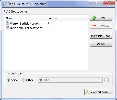 KONVERTERA FLAC TILL MP3 GRATIS