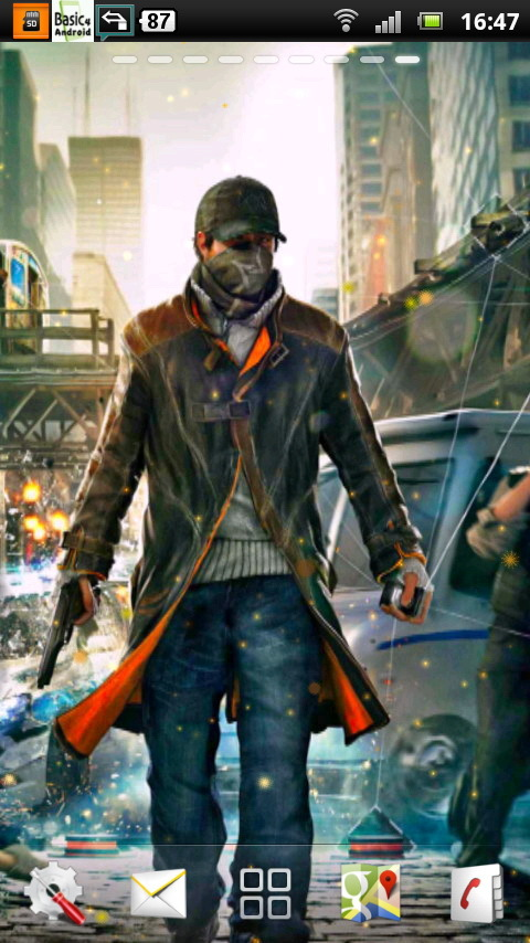Watch Dogs Live Wallpaper 4 Télécharger et Installer  Android