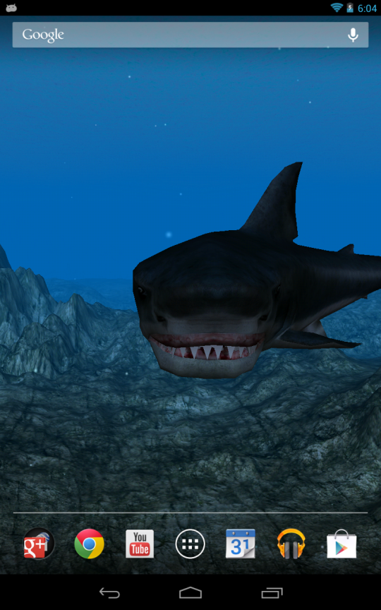 Shark Attack 3d Live Wallpaper Télécharger Et Installer Android