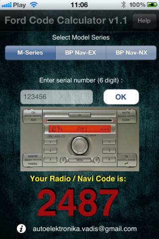 Ford Radio Code V >> Ford M Radio Code Download And Install Ios