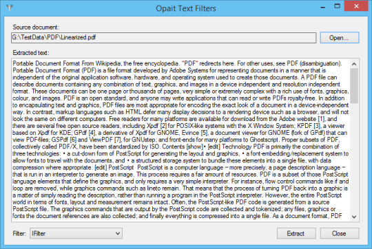 how to make pdf searchable renderable text