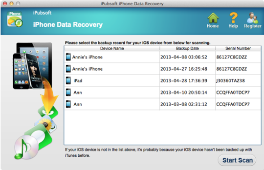 iPubsoft iPhone Backup Extractor Download and Install | Mac