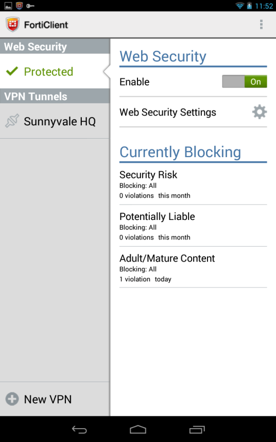 2. Creating an SSL VPN portal