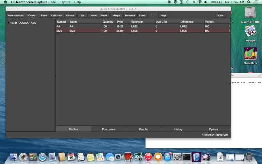 Quick Stock Quotes Download and Install | Mac