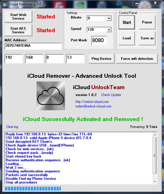 iCloud Remover Download and Install | Windows