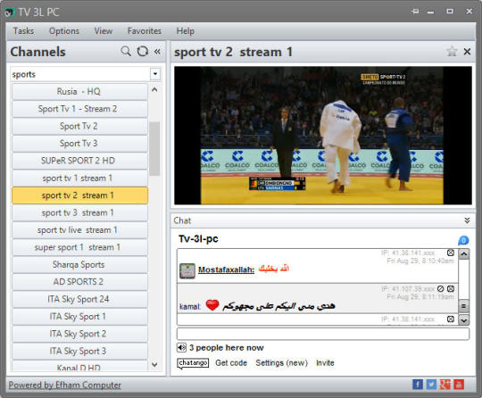 logiciel tv 3l pc