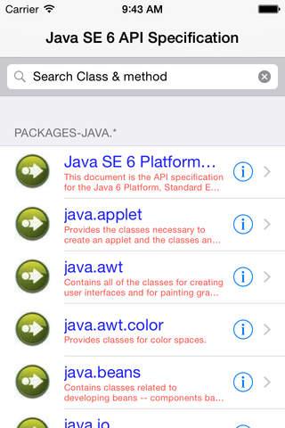 Java api se 6 download