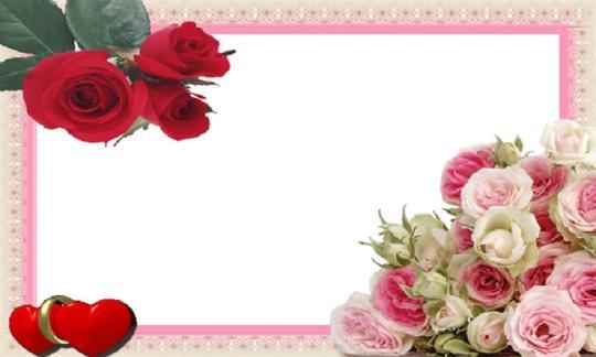 电子板报边框樱花