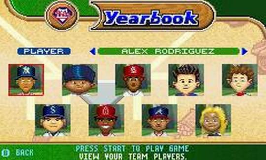 Backyard Sports Baseball Screenshots