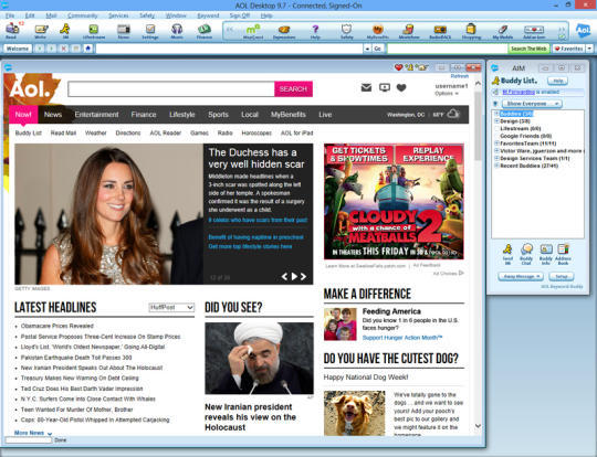 Aol desktop version 9.7