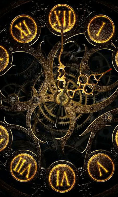 Mechanical Clock Live Wallpaper Download And Install Android