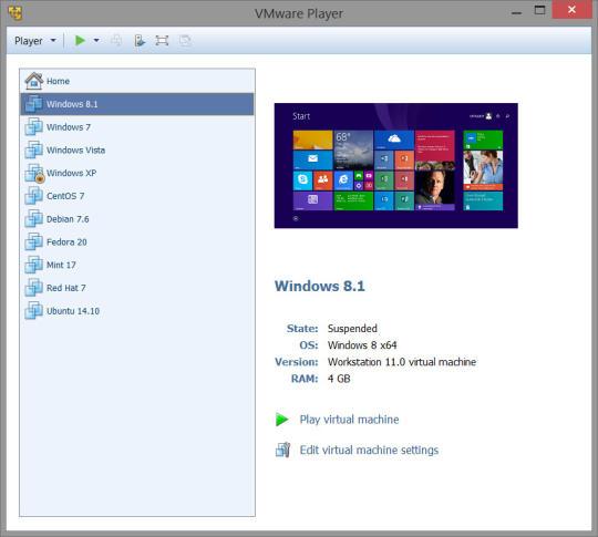 Virtual Machine Vmware