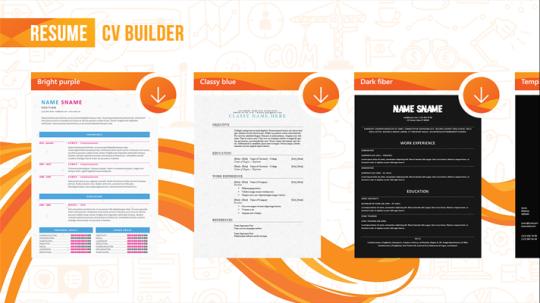 resume cv builder ダウンロードしてインストールします windows
