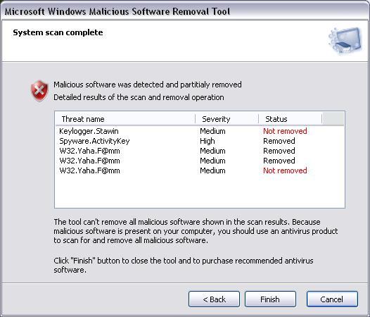 microsoft windows malicious software removal tool ダウンロードして