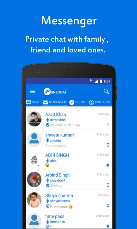 Funzchat Messenger Download And Install Android