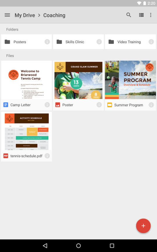 google drive download and install android