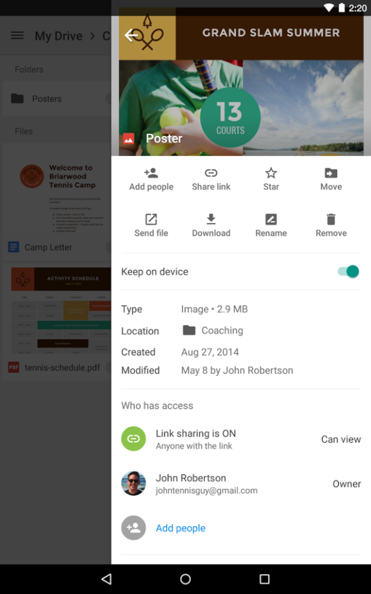 how to sync google drive with pc and android