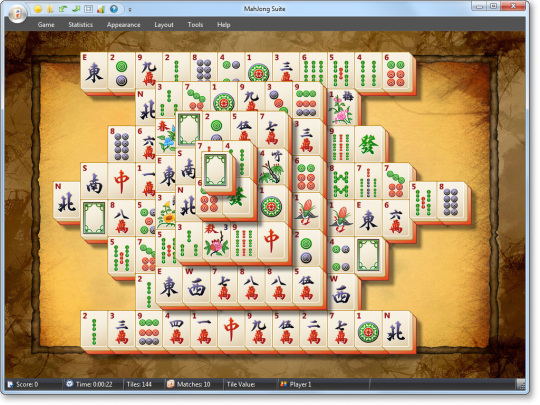 "Enable hidden secret ""debug"" menu in microsoft ""mahjong"" game in."