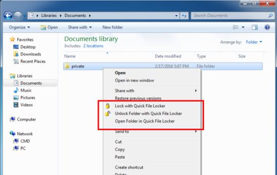 Quick File Locker Baixar e instalar | Windows