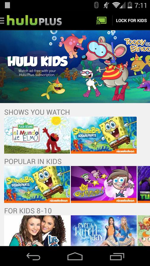 Hulu Downloaden en installeren   Android