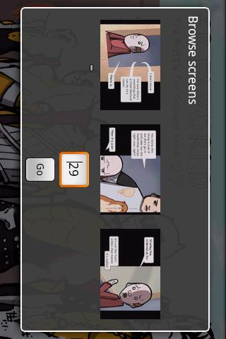 droid comic viewer