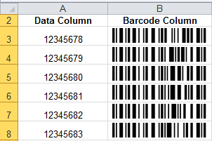code 128 amp gs1 128 native microsoft excel barcode generator
