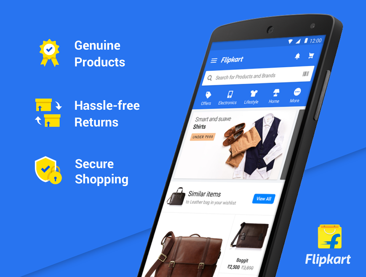 Flipkart Online Shopping App Download and Install | Android