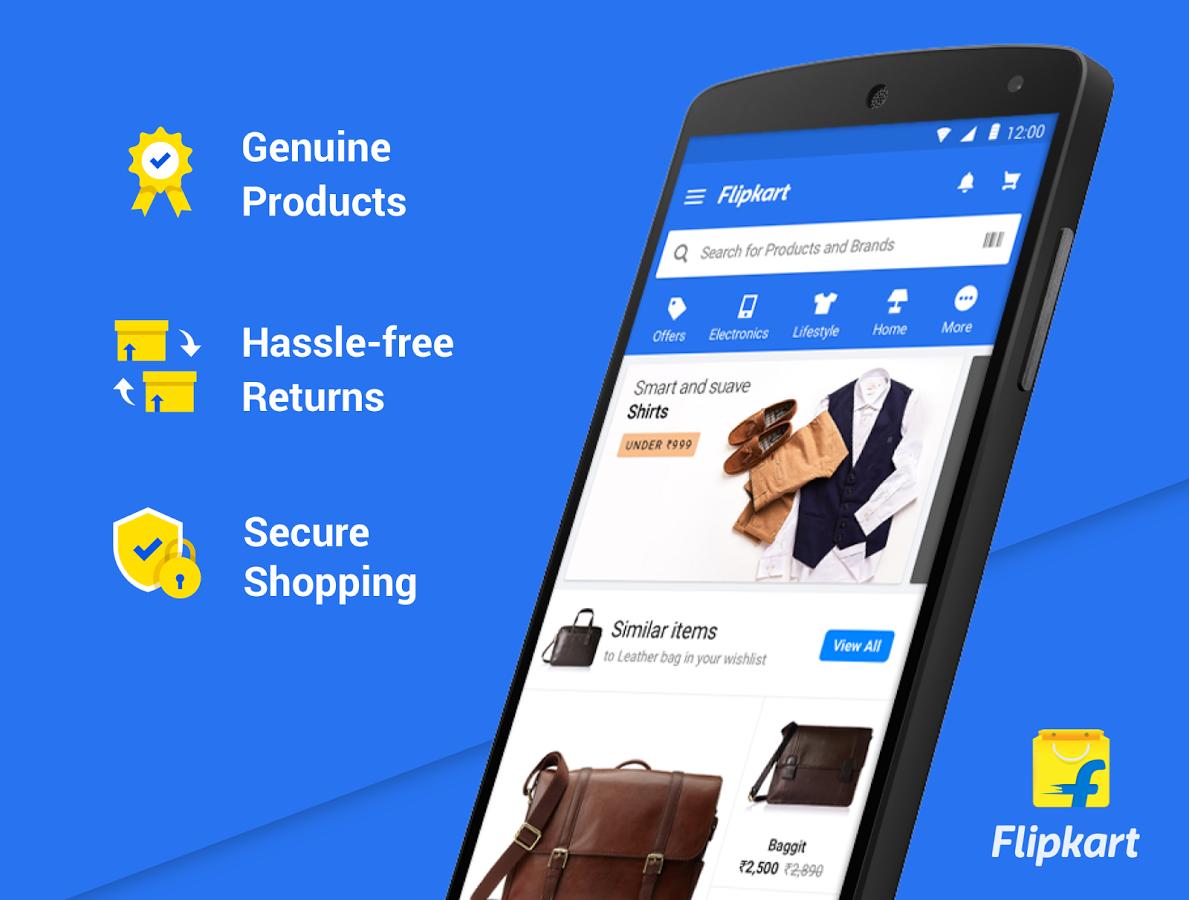 b671e81dc1f Flipkart Online Shopping App Download and Install