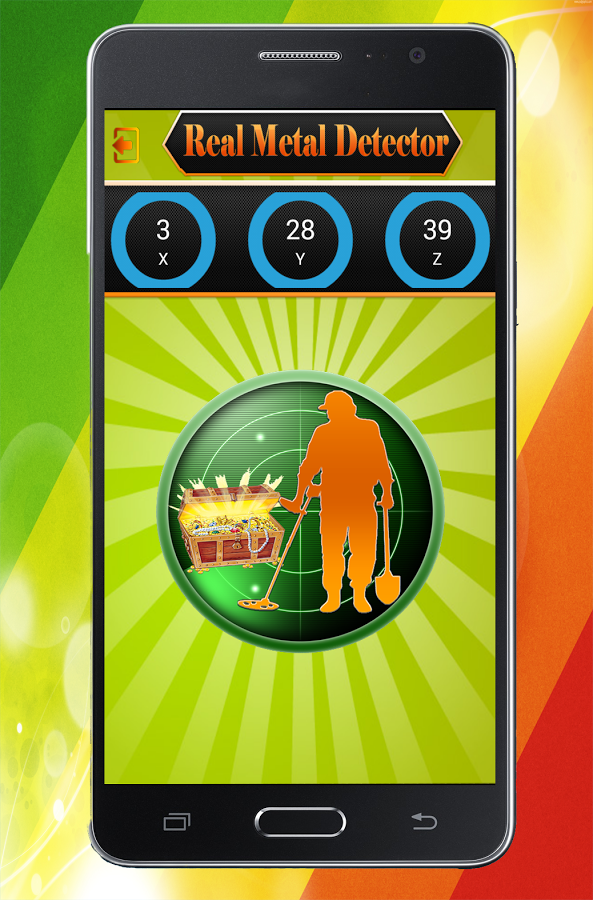 metal detector for android