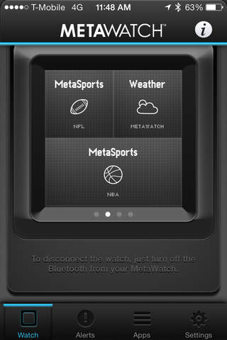 MetaWatch Manager for iOS Download and Install | Ios