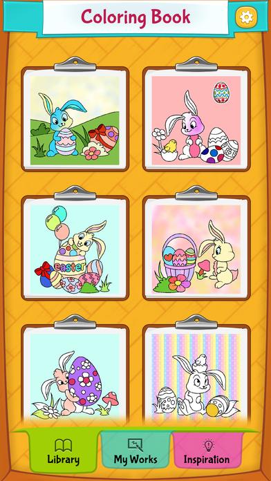 Galerry rabbit cartoon coloring sheet