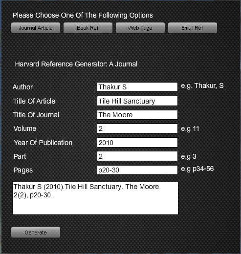 Harvard Reference Generator Tool Download and Install   Mac