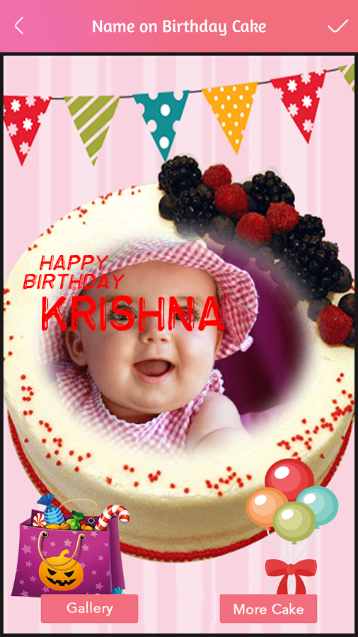 Name Photo On Birthday Cake Download And Install Android