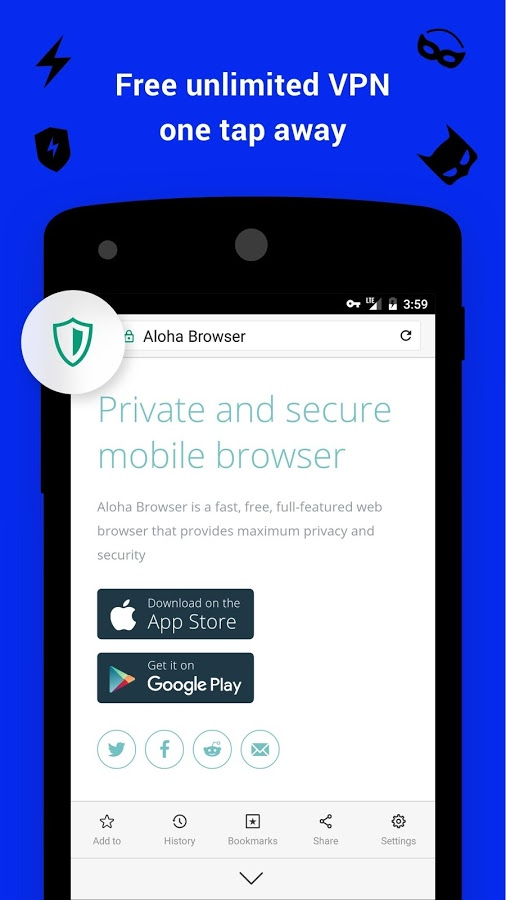 Aloha Browser + free VPN Download and Install | Android