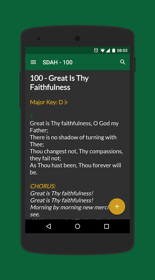 SDA Hymnal Download and Install   Android