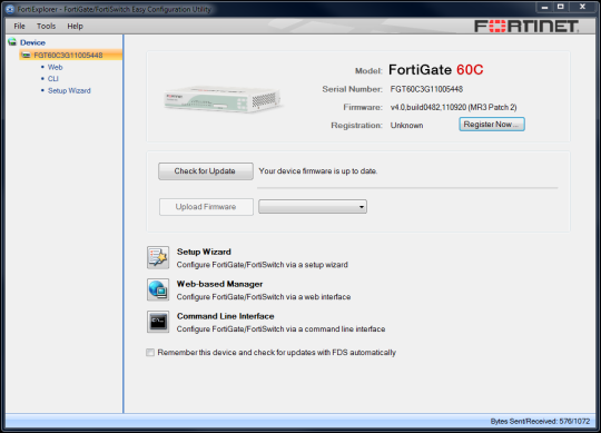 FortiExplorer Download and Install | Windows