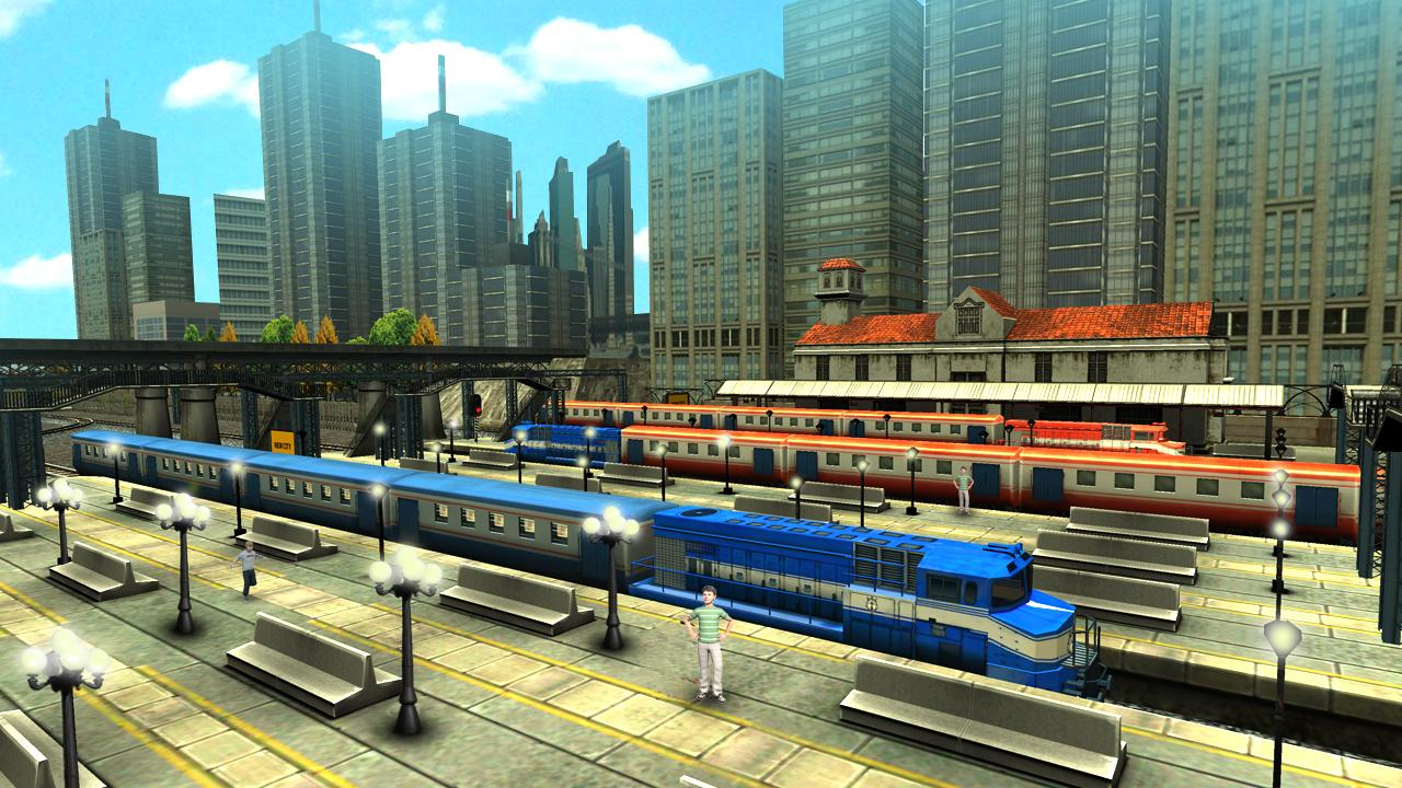 Train Racing Games 3D 2 Player Download and Install | Android