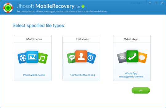 jihosoft android téléphone récupération gratuit