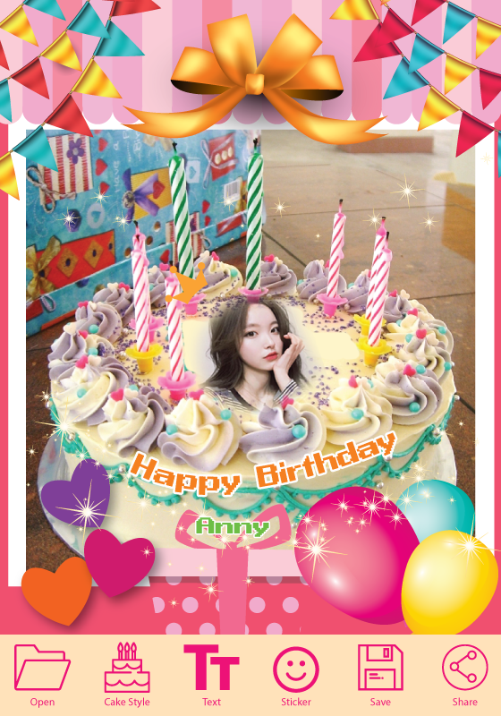 Birthday Cake Photo Editor Telecharger Et Installer Android