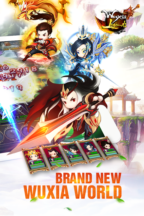 Wuxia Legends - Condor Heroes Download and Install | Android