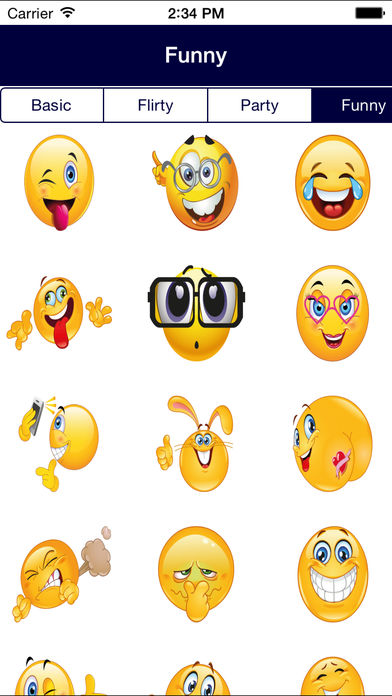 flirty emoticons for iphone