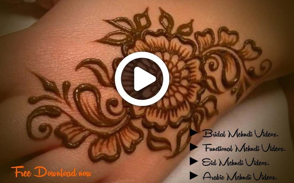 mehndi designs arabic simple and easy video download