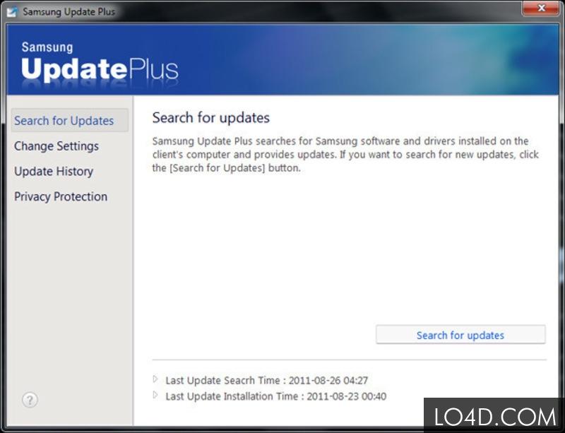 Samsung Update For Windows 10 Telecharger Et Installer